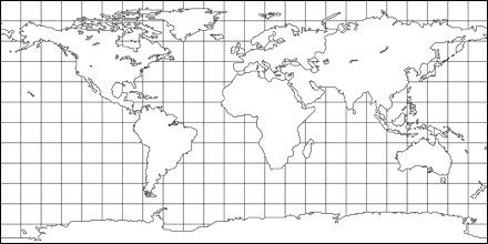 World map on grid for drawing google search wood map art pinterest world map on grid for drawing google search gumiabroncs Gallery