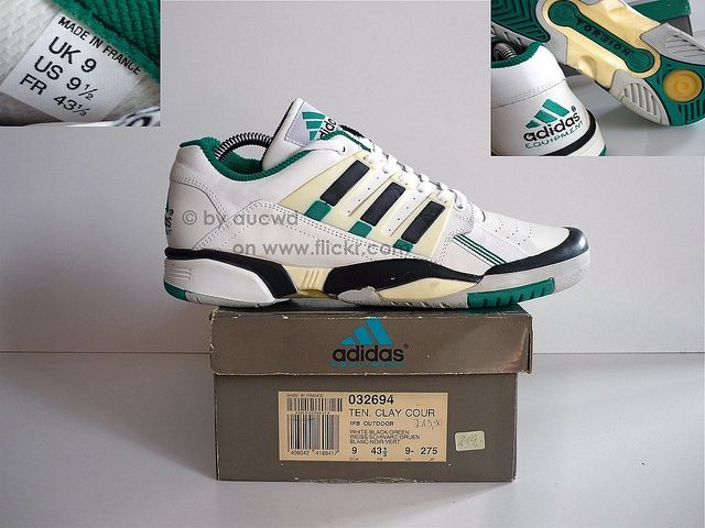 save off 296fa e0c55 UNWORN 90`S VINTAGE ADIDAS TORSION EQUIPMENT TENNIS CLAY ...