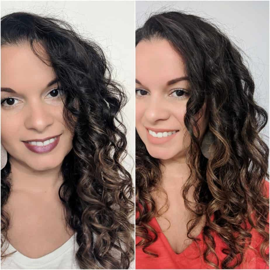 Long Curly Hair Style Shoulder Length 2c 3a Curly Hair Styles