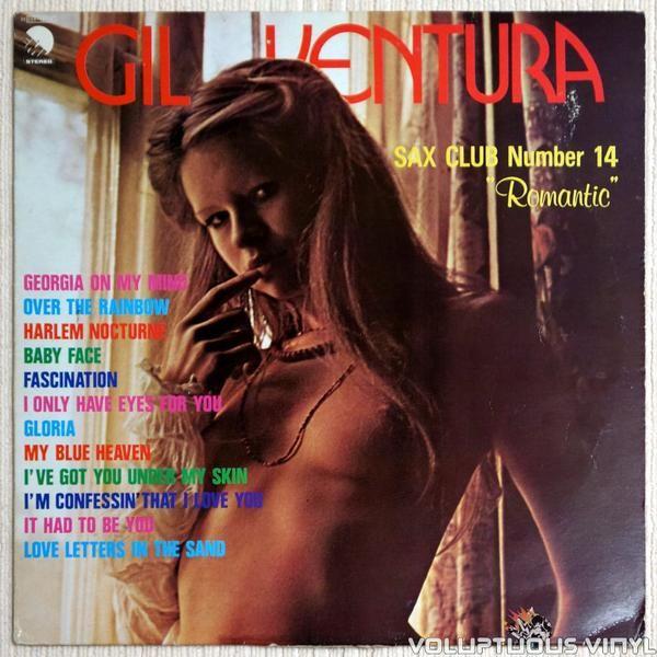 Gil Ventura Sax Club Number 14 Romantic 1977