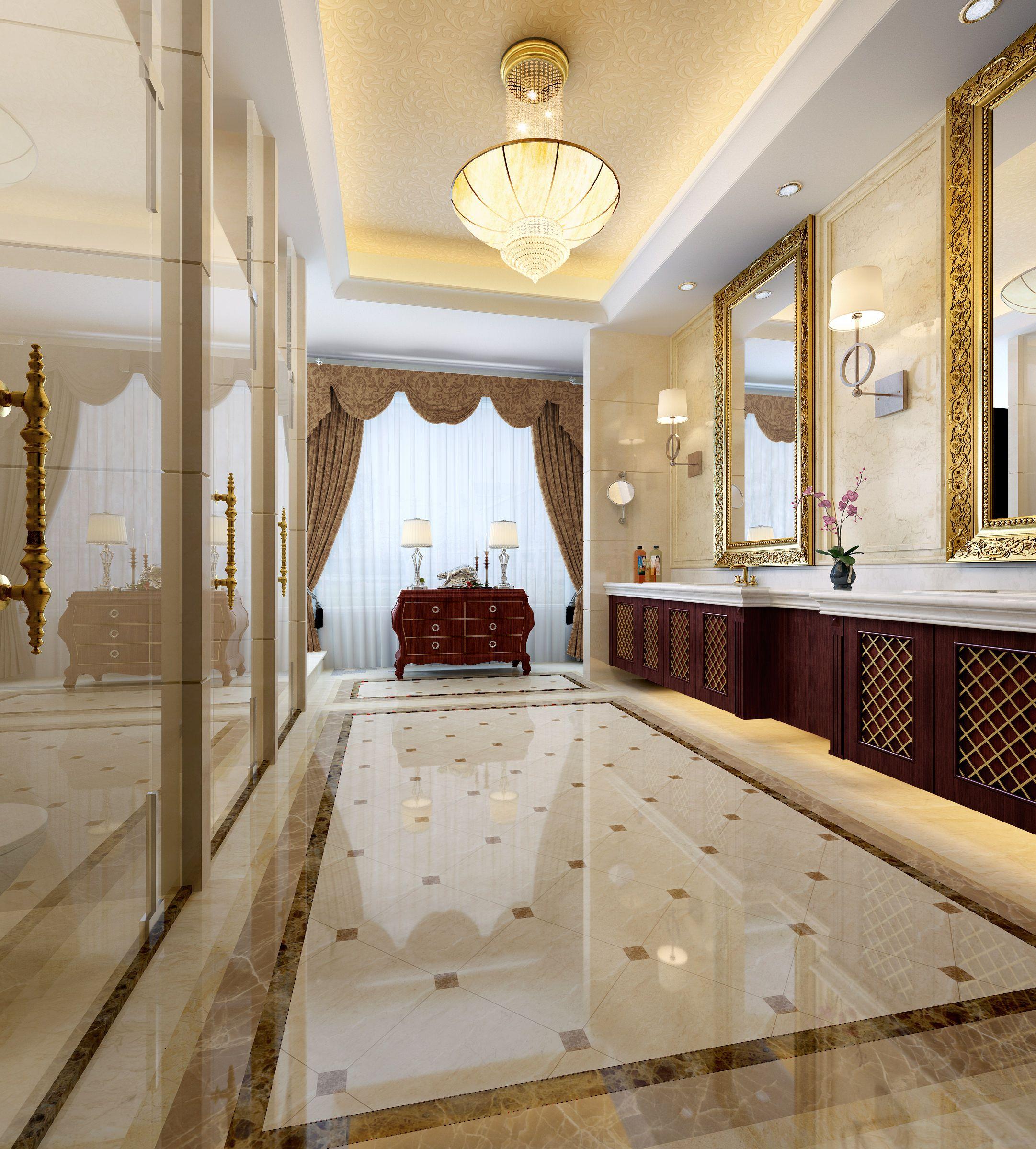 elegand and luxury bathroom 3d model max 1 | Bathroom ... on Bathroom Model Design  id=26285