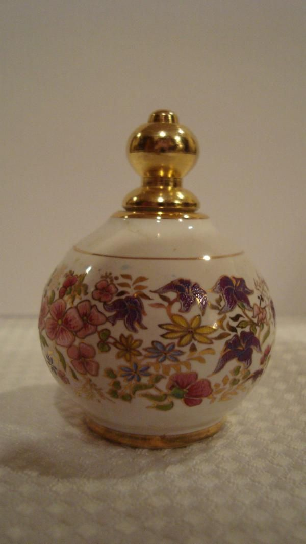 Botella de perfume Europea (esmalte pintado, botella de porcelana