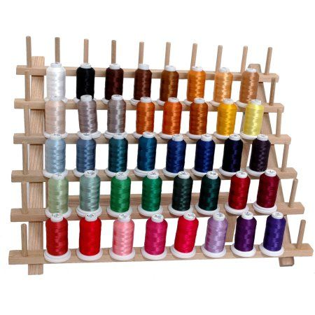 40 Spools Brother//Disney Colors Embroidery Machine Thread STUNNING COLORS
