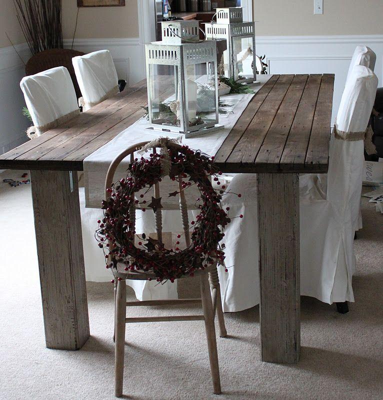 A dining room table I really like!