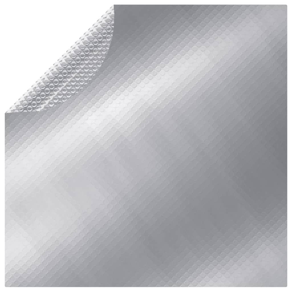 Pool Cover Silver 210 cm PE