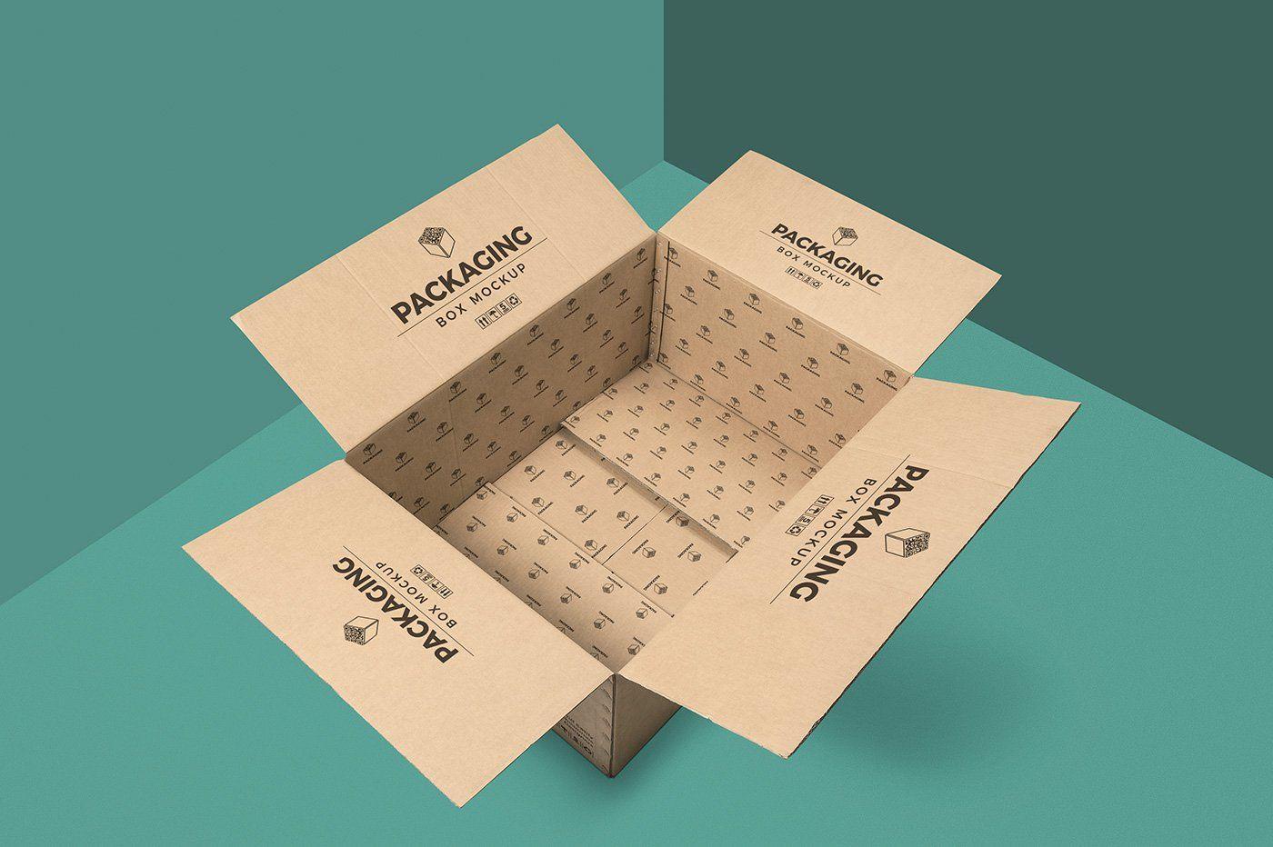 Download Packaging Box Mockups Box Mockup Mockup Packaging Box Packaging Mockup