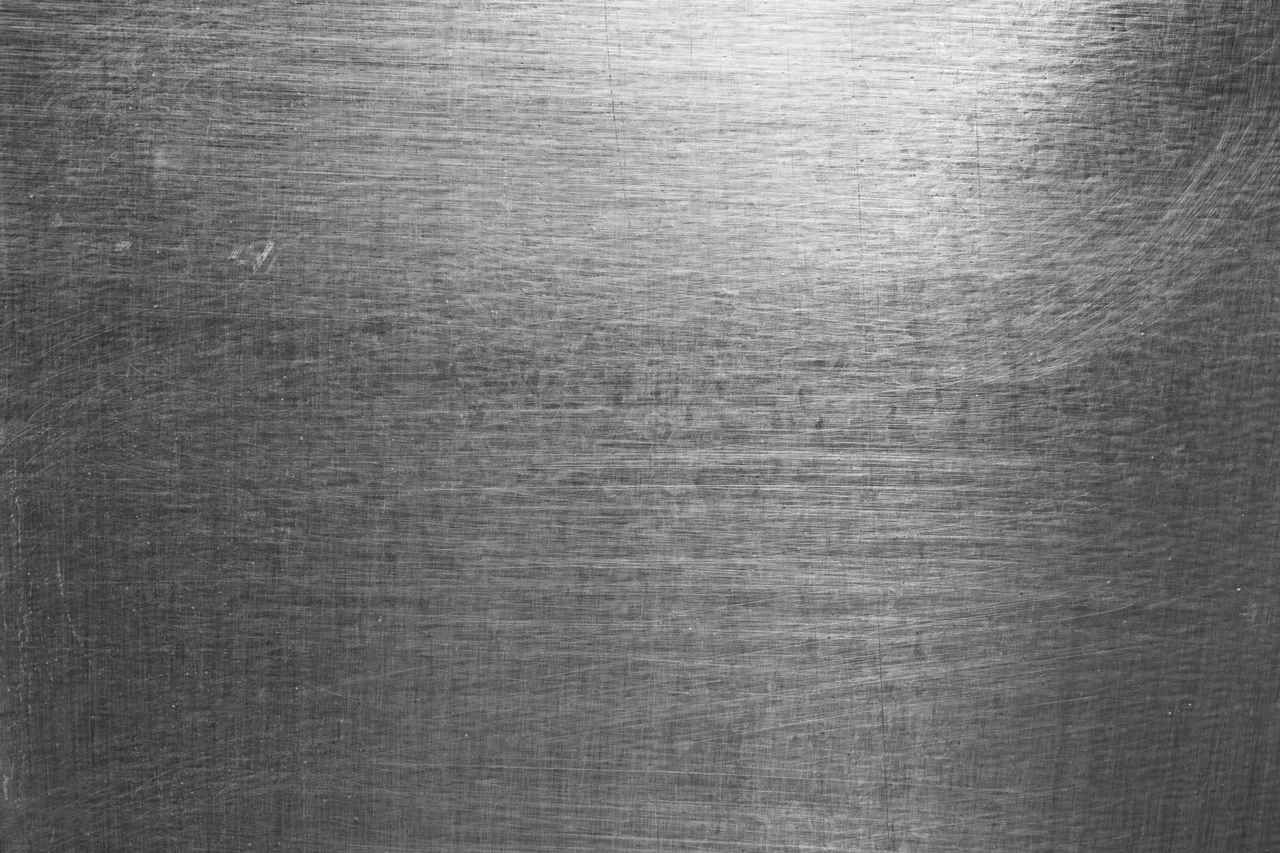 High Contrast Brushed & Scratched Metal Sheet (With images ...