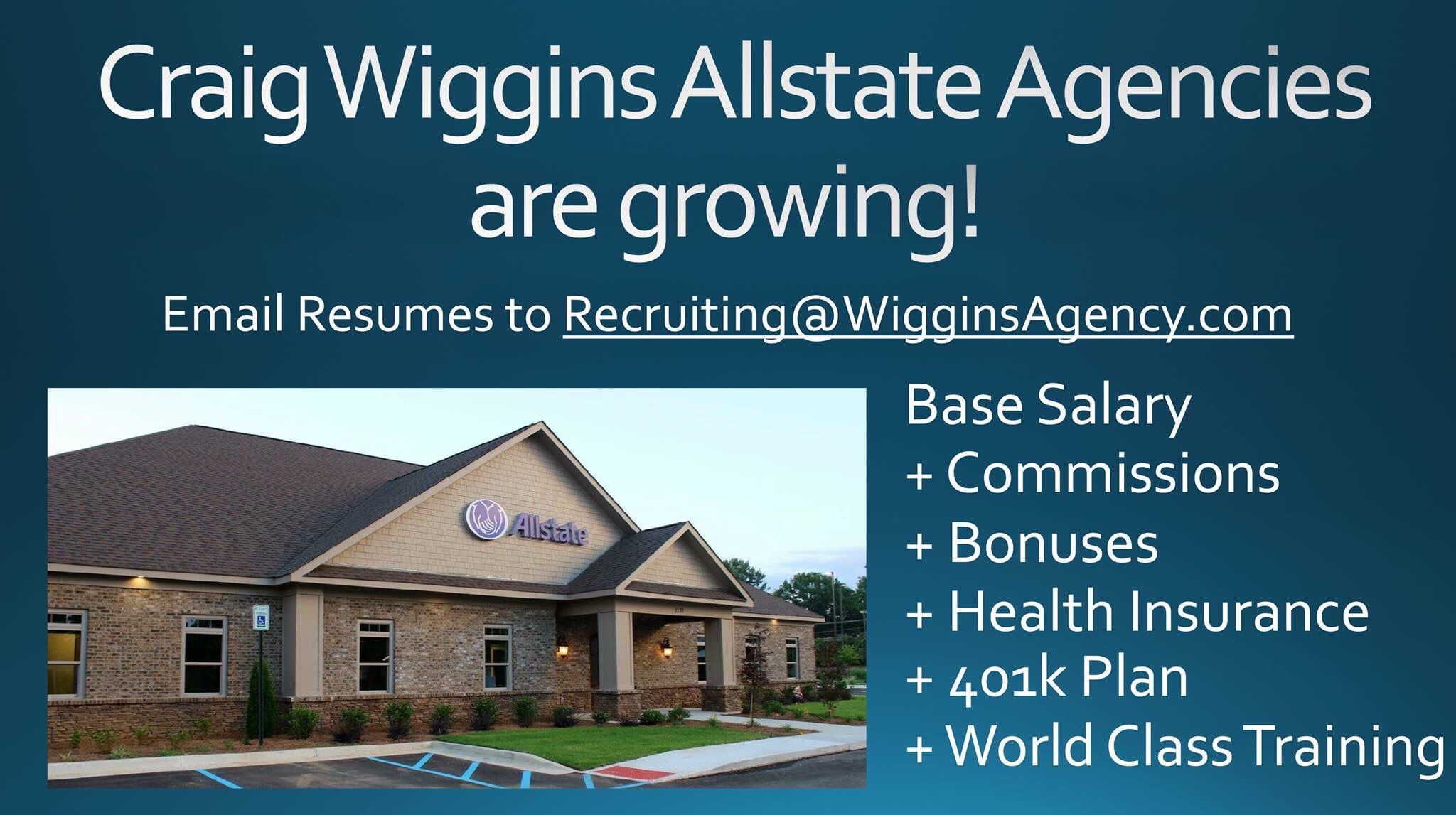 Craig Wiggins Allstate Agencies In Alabama And Georgia Seeking