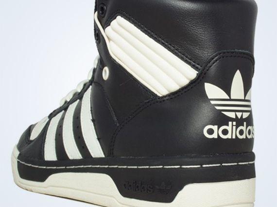 adidas Originals Rivalry Hi - Black - White - SneakerNews.com ... 4f095ac66550