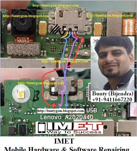 Lenovo Vibe C A2020a40 Charging Usb Problem Solution