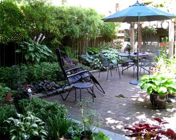 Landscaping For Small Shady Back Yards Houston | Landscaped Back Yard And  Patio Design