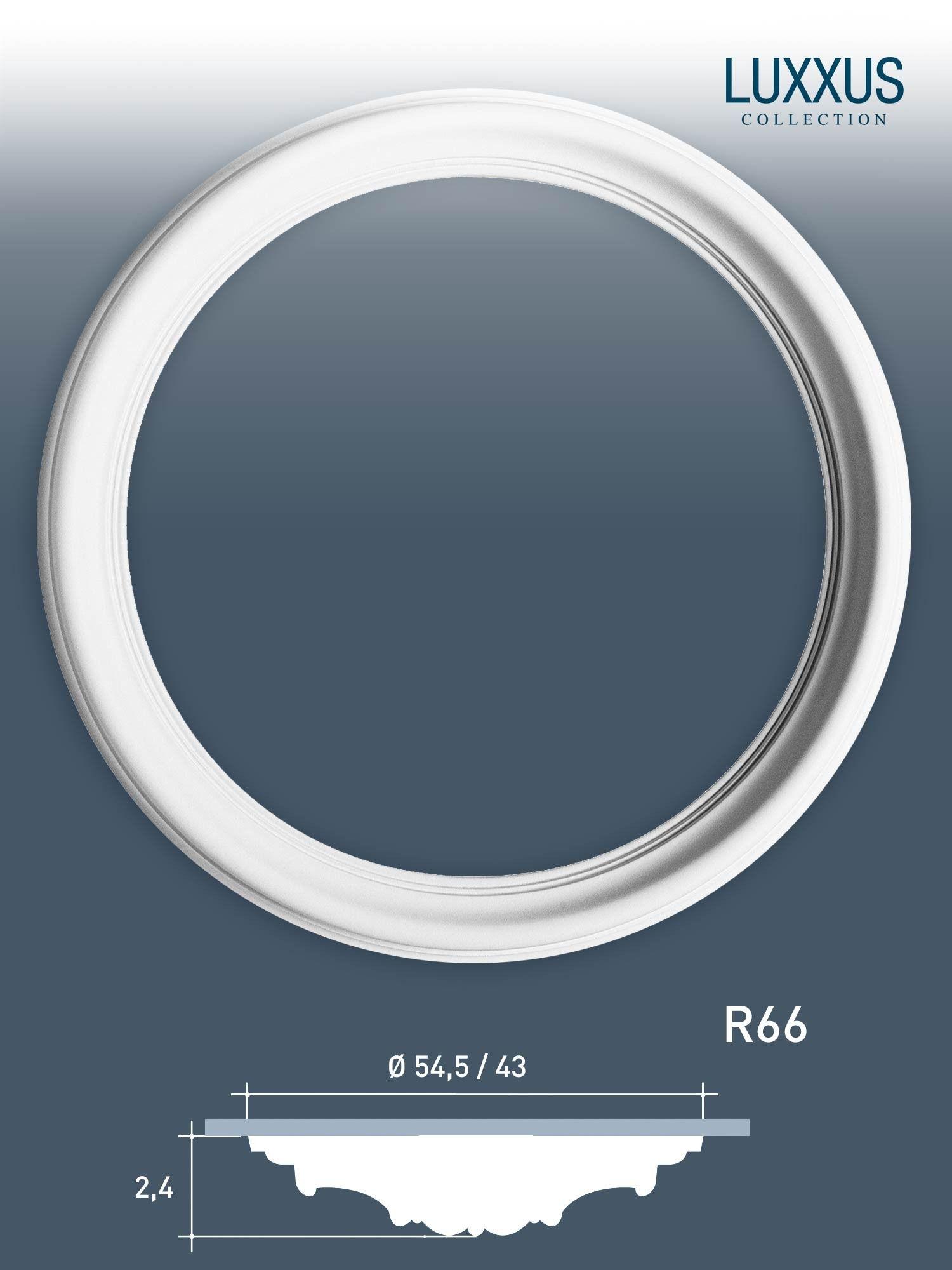 zierrosette stuck orac decor r66 luxxus rosette decken ring leiste
