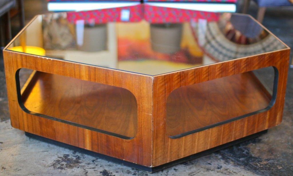Hexagon Coffee Table Gl Top