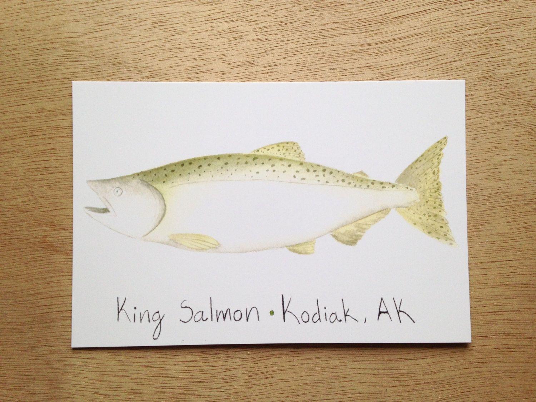 Salmon Gift Tags