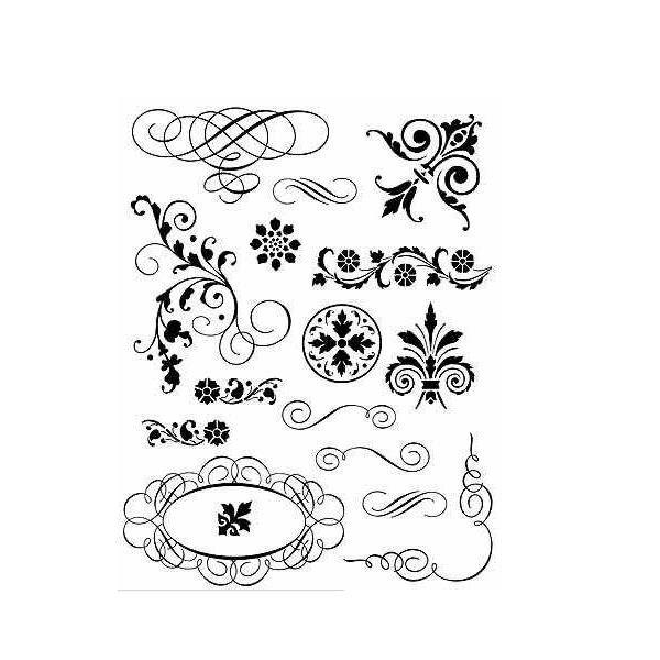sellos para decoupage para imprimir - Buscar con Google | henna ...
