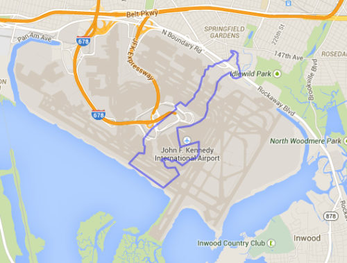 Monaco Compared to JFK Airport Wonderful Maps Pinterest