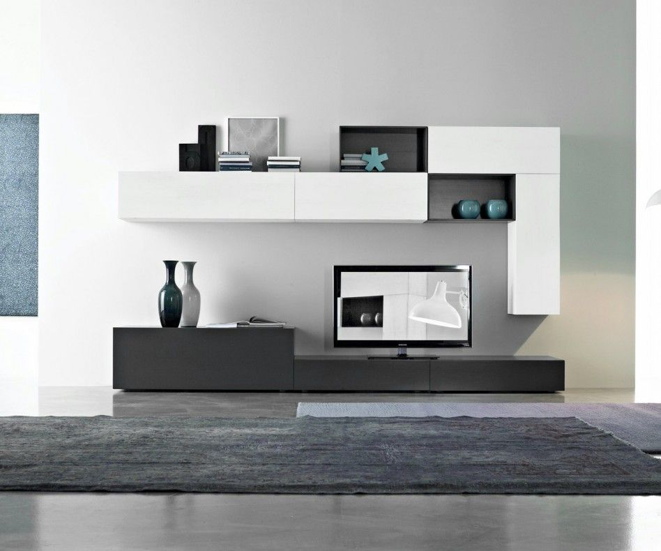 Fgf mobili wohnwand c26b interiors around the world in for Mobili living design