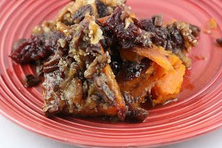A Year of Slow Cooking: Pecan Topped Baked Sweet Potatoes CrockPot Recipe