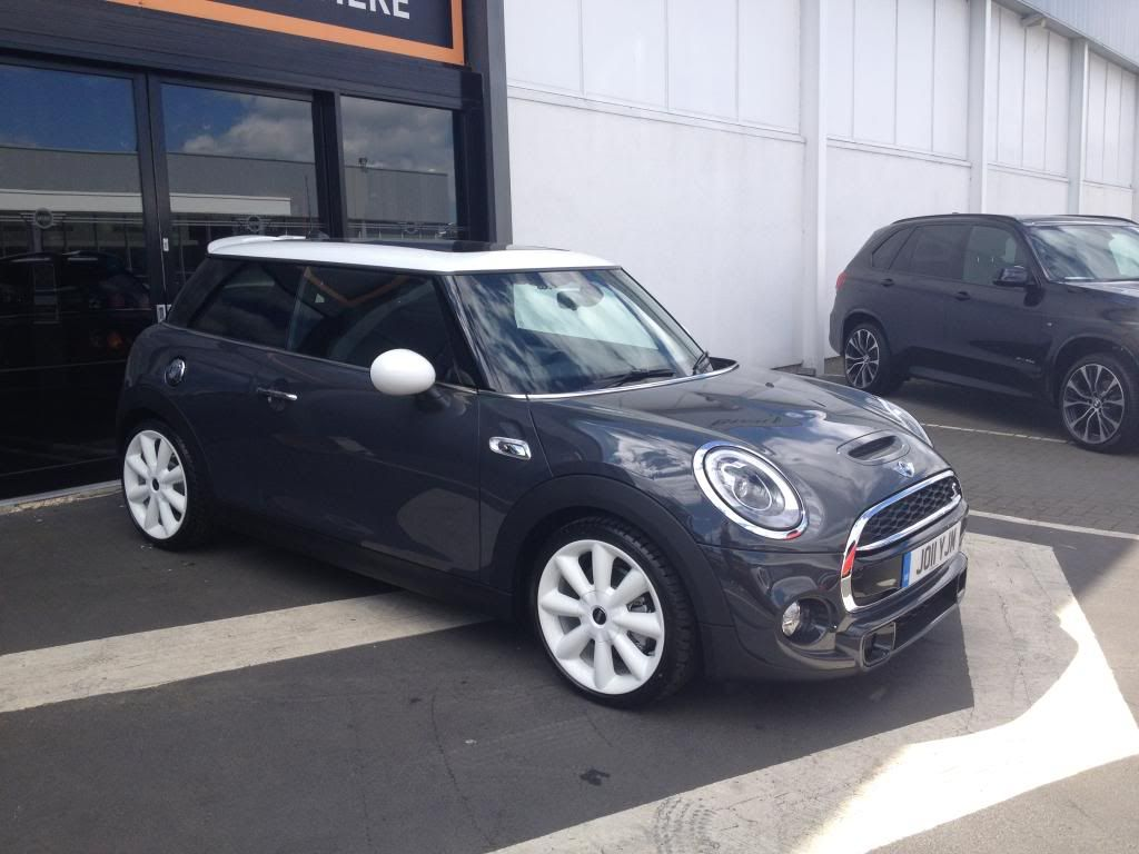 My Thunder Grey F56 Cooper S The Project Thread Page 17 2015