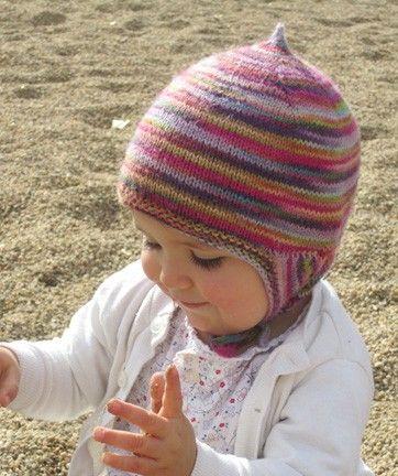 Knitting pattern PDF - baby earflap hat | Knit patterns, Pdf and ...