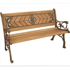 Parkland Heritage Amarillo Rose Park Bench SL6810 AB At The Home Depot 123