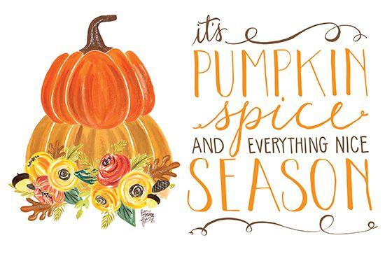 Pen N Paper Flowers Free Pumpkin Spice Everything Nice Art Print The Cake Blog Pumpkin Wallpaper October Wallpaper Fall Wallpaper