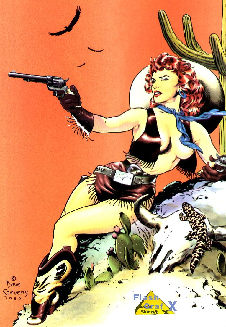 Creative EROTIC ART and Pin-Up by Dave Stevens