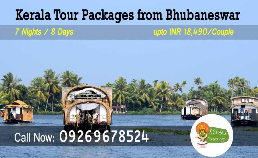 Kerala tour package from Bhubaneswar @ www.keralapackage.org