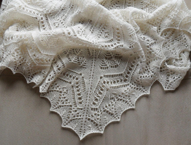 Shetland Lace Shawl / Christening Blanket. $269.00, via ...