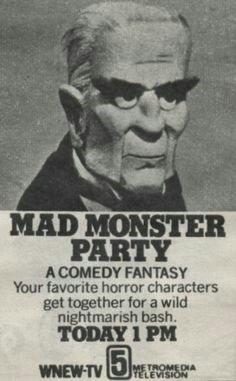 The real Mad Monster Party!