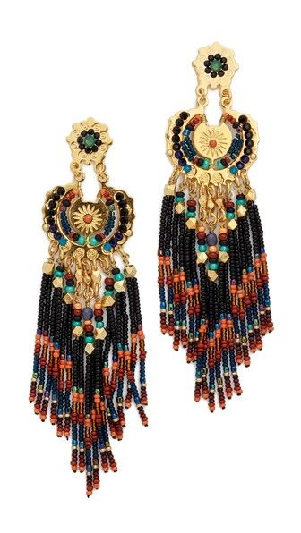 GAS Bijoux Apache Earrings / Shop them here: http://fave.co/1mbRRbj