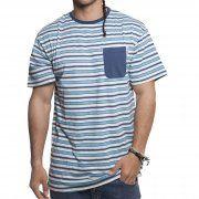 Camiseta Santa Cruz: Special Tee Clifftop Blue Stripe BL