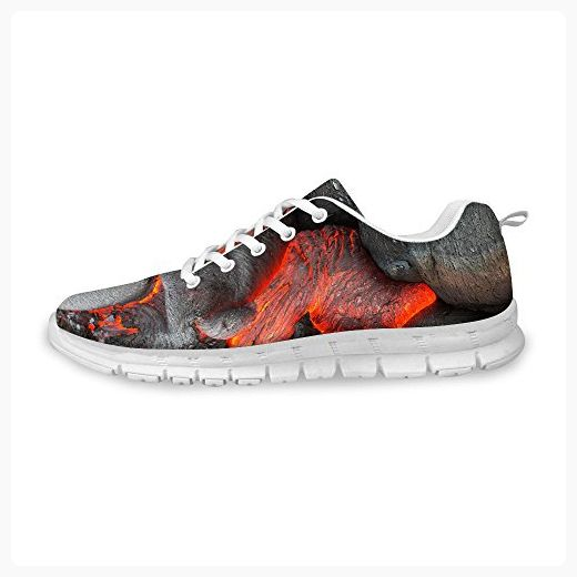 36a97c3f2c81c FOR U DESIGNS Unisex Lace Up Walking Athletic Comfort Running Shoes ...
