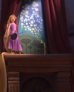 tangled mural from movie all things disney pinterest