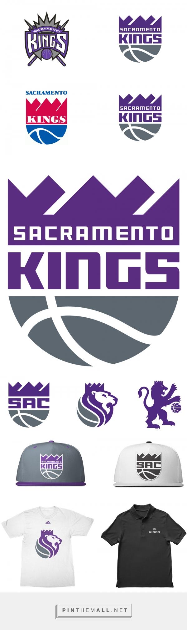 Brand New: New Logos for Sacramento Kings by RARE - created via https://pinthemall.net