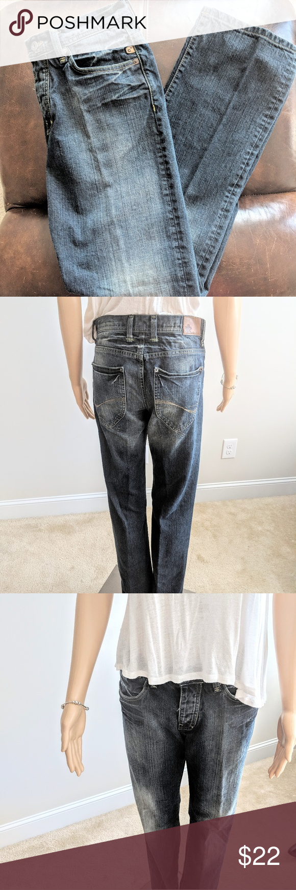 united states newest collection exquisite design Celio button front, straight leg jeans Medium wash, straight ...