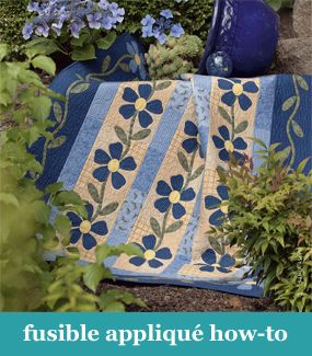 Fusible applique how-to