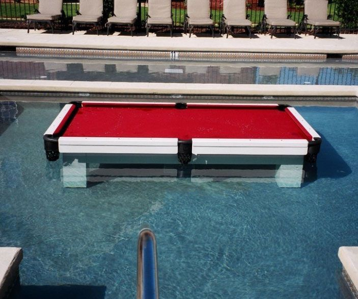 Cool Pool Tables >> Waterproof Pool Table | Cool pools, Outdoor pool table ...