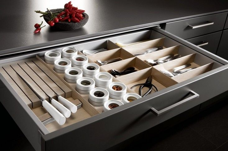 Lovely Mise En Place: Kitchen Tool Drawer Organizers