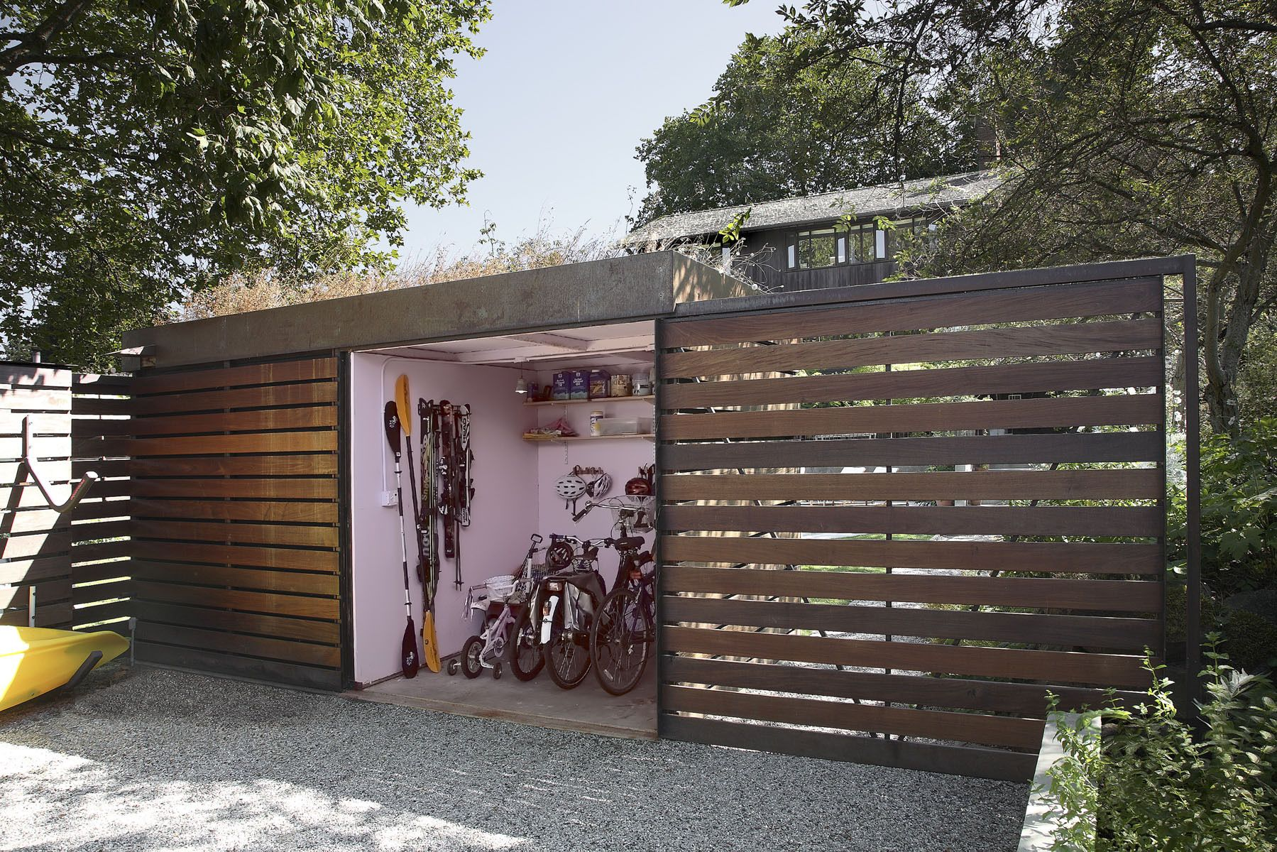 Modern Bike Storage Shed