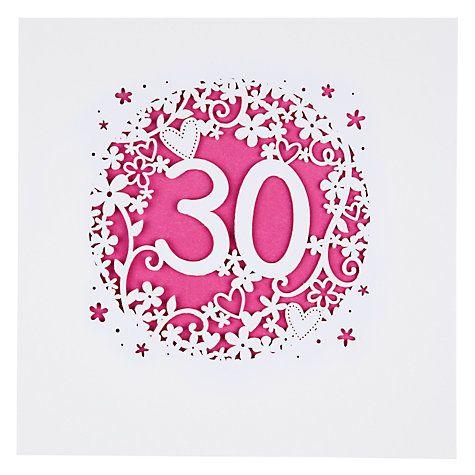 Buy Paperlink 30th Birthday Card Online at johnlewiscom