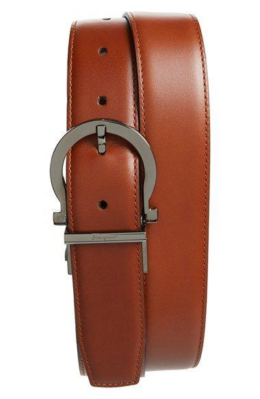 Salvatore Ferragamo Gancio Buckle Leather Belt. Cintos De CouroSalvatore ... 0d8eca67a9