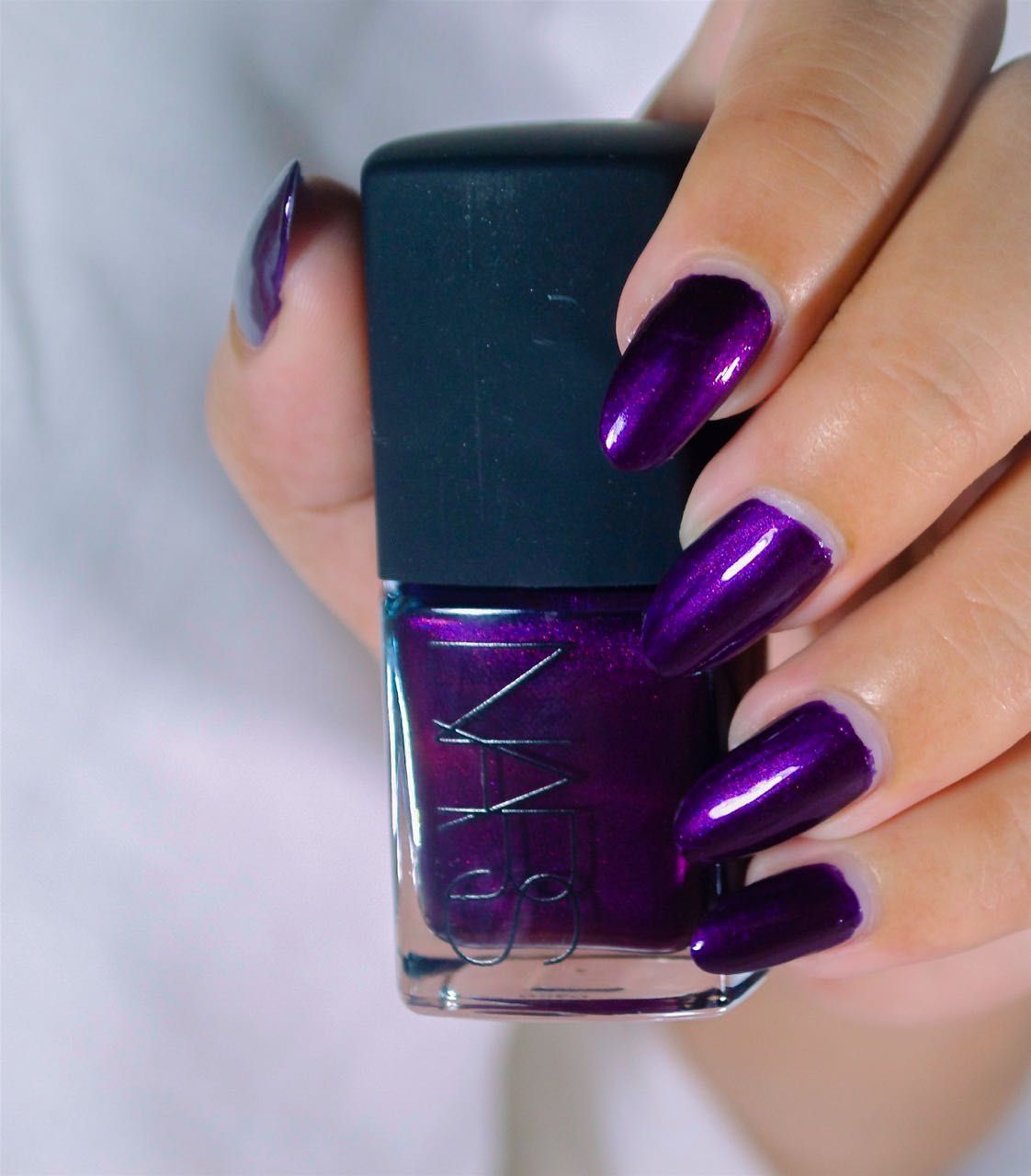 NARS Nail Polish Swatches ~ Purple Rain | Nail Art - Just Polish ...