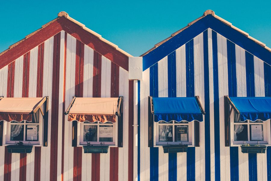 #costa nova #portugal #stripes #houses #travel #holidays