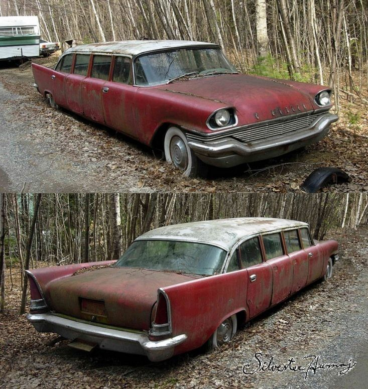 1957 Chrysler New Yorker Airport Limo. I Would Love To