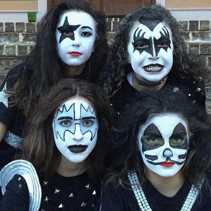 KISS Halloween costume Kiss halloween costumes