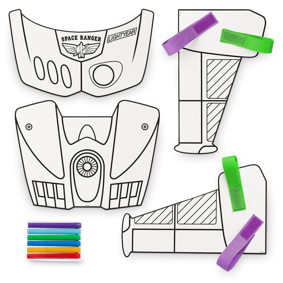 Product Image Of Buzz Lightyear Create Your Own Space Ranger Wings Craft Kit 4 Buzz Lightyear Buzz Lightyear Wings Toy Story Birthday