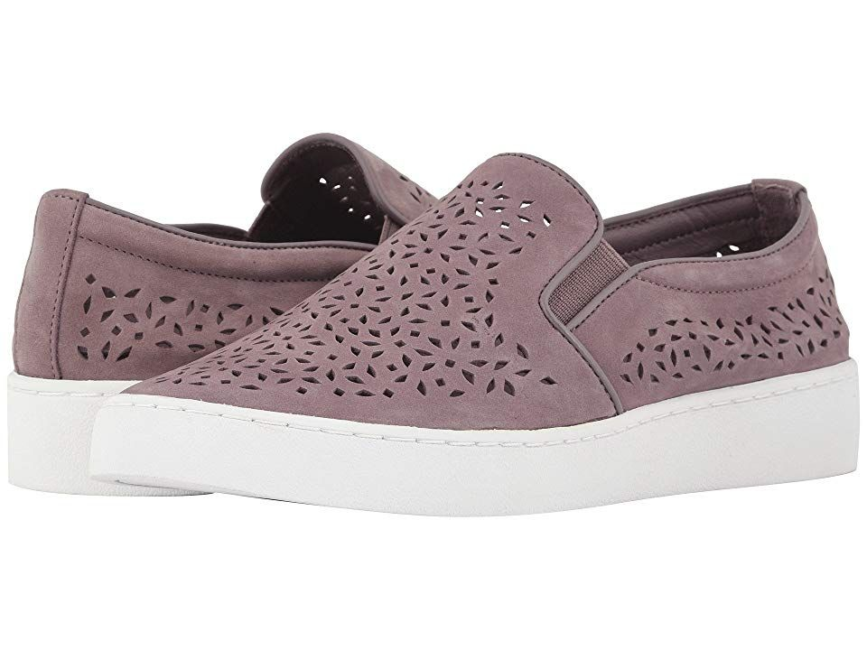 20666008f VIONIC Midi Perf (Dusk) Women's Slip on Shoes. The cute and casual Midi Perf  makes your casual looks memorable! Premium perforated leather uppers  throughout ...