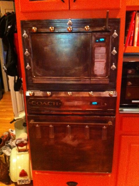 distressed Oven