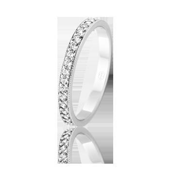 Ladies Collection - Peter W Beck #DiamondsOfDistinction #WeddingBands #DiamondWeddingBands #WhiteGold